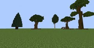 custom trees pack minecraft project