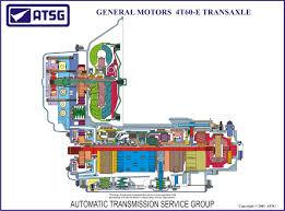 atsg gm 4t60 18 x 24 color cutaway poster