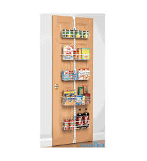 over the door organizer freedomrail over the door pantry rack in over the door organizers
