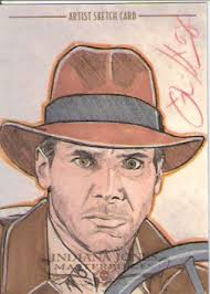 indiana jones non sports cards for sale