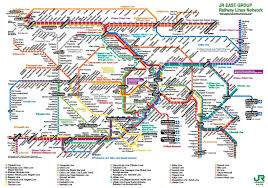 Los Angeles Rail Map by Tokyo Train Map