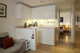 Small Studio Kitchen Ideas Design Wardrobe With Open Kitchen Designs Small Apartments