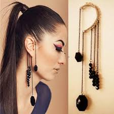 wearing ear cuffs 10 different ways of wearing ear cuffs with chains adworks pk