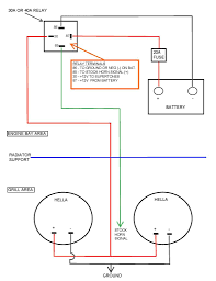 horn relay wiring diagram with template images 41396 and