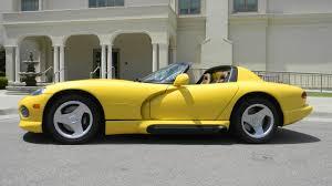 Dodge Viper 1995 - 1995 dodge viper rt 10 convertible f197 dallas 2011