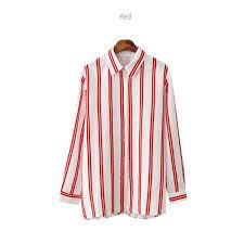 rayon fabric shirt woman clothing red color ksd apparel co ltd