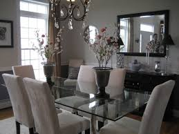 glass dining room table set best 25 glass top dining table ideas on within