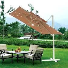 Square Patio Umbrellas Garden Treasures Offset Umbrellas Elcorazon Club