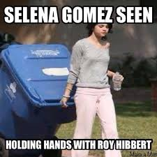 Roy Hibbert Memes - hibbert playing like trash lately http nbafunnymeme com