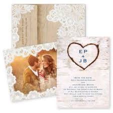 Rustic Save The Dates Save The Date Invitations By Dawn