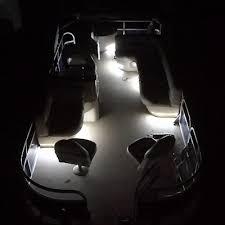 pontoon boat led light kits deluxe pontoon boat interior led lighting kit custom boats unlimited