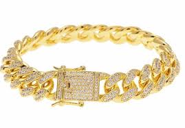 cuban bracelet images Iced out cuban bracelet mofftco online store jpg