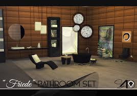 The Sims 2 Kitchen And Bath Interior Design Friede Bathroom Set New Mesh Sims 4 Designs