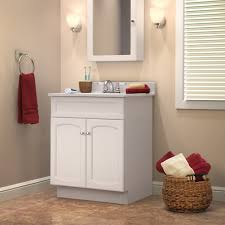 Modern Wood Bathroom Vanity Furniture Wondrous White Wooden Bathroom Vanity With Tall Square