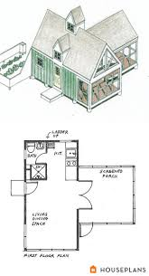 guest cottage plans style house bedroom floor best tiny images on