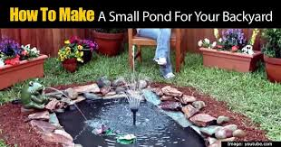 How To Build A Pond In Your Backyard by How To Build A Stone Lined Fit Anywhere Good Looking Backyard Pond