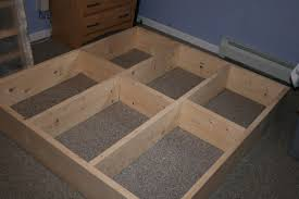How To Build A Bed Frame With Storage How To Build A Platform Bed Frame Storage How To Build A