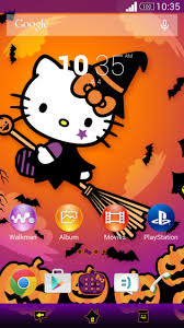 hello kitty themes for xperia c new premium halloween xperia themes released scary halloween and