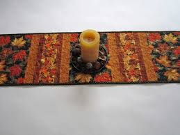 Fall Table Runners by Patchwork Mountain Handmade Quilts Table Runners Table Toppers