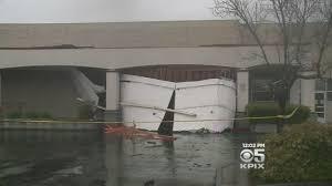 heavy rain blamed for awning collapse at santa rosa kmart cbs