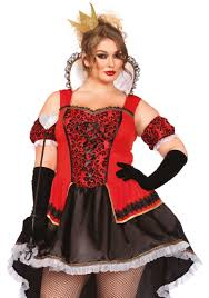 Corset Halloween Costumes Size Size Royally Queen Hearts Halloween Costume