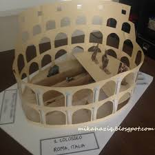 ideas for ks2 roman project mikahaziq easy colosseum project for kids