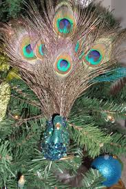 24 best my peacock christmas tree images on pinterest peacock