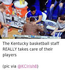 Kentucky Basketball Memes - the kentucky basketball staff really takes care of their players the