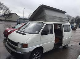 volkswagen van side volkswagen transporter t4 camper van professional conversion full