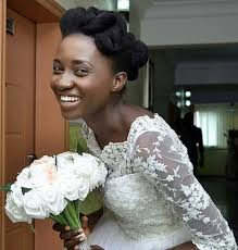 nigeria wedding hair style nature at its best nigerian born again bride rocks natural