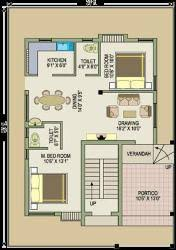 2bhk simplex with total area 1200 sqft gharexpert 2bhk simplex