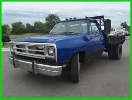 cheap dodge trucks used 89 dodge d350 flatbed work diesel truck 5 speed manual