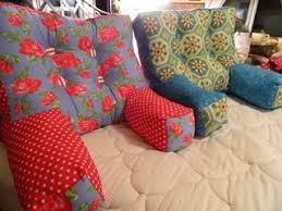 How To Make An Armchair Tutorial Armchair Pillow To Support Your Back While Reading Or