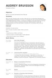 Product Manager Resume Sample by Area Sales Manager Resume Samples Visualcv Resume Samples Database