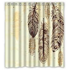 Shower Curtain 36 X 72 Perfect Home Decorative Curtain Dream Catcher Shower Curtian Bath
