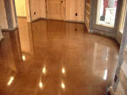 stained concrete floors for different home flooring ideas hgnv com