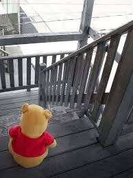 lonely pooh bear kilroyart deviantart