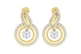 diamond earrings designs buy jena designer diamond earrings endear jewellery