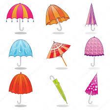 Clip Umbrella Umbrella Clip Art U2014 Stock Vector Rocket400 7870532