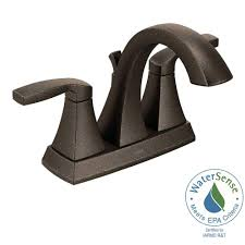 Moen Brantford Kitchen Faucet Oil Rubbed Bronze by Moen Voss 4 In Centerset 2 Handle Bathroom Faucet In Oil Rubbed