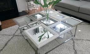 cheap mirrored coffee table mirror coffee table best mirrored coffee tables ideas on glam living