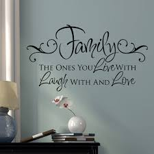 Shop All Decals  Quotes And Definitions Wall Decals  Family - Family room quotes