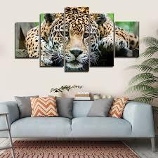 animals elephantstock leopard multi panel canvas wall art
