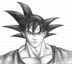 son goku by skyvvards on deviantart