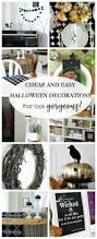 pop up halloween decorations cheap and easy halloween decorations up to date interiors