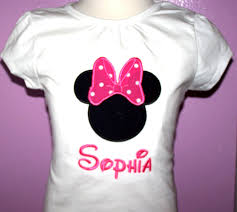 home minnie mouse personalized minnie mouse shirt big bow