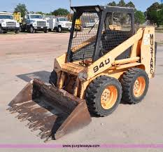 mustang bobcat mustang 940 skid steer item g6074 sold august 22