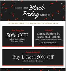 Barnes And Nobles Opening Hours Barnes And Noble Black Friday 2017 Ads Deals And Sales