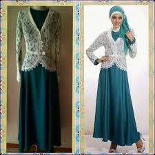 model baju kebaya muslim 23 model kebaya brokat muslim modern terbaru elegantria