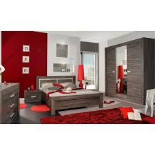 solde chambre a coucher complete adulte chambre complète adulte 160 200 gris foncé romeo l 160 x l 200
